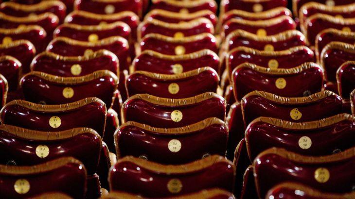 les fauteuils d'une salle de cinéma